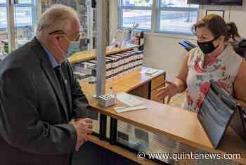 Quinte West businesses participating in rapid COVID-19 testing initiative - Quinte News