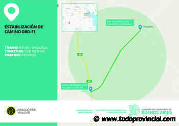 Vialidad licitó obras de estabilización de caminos rurales en Necochea, Pehuajó y Marcos Paz - Todo Provincial