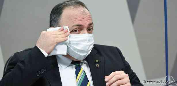 Gravata de Pazuello foi comprada pelo COB e virou amuleto de Lula - UOL Esporte