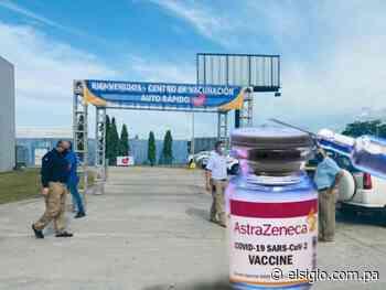 Llegó la AstraZeneca a Veraguas; inicia hoy vacunación en autoexpress de Santiago Mall - El Siglo Panamá