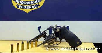 [VÍDEO] revólver é encontrado em motor de carro em Barra Velha - Diário da Jaraguá