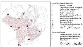 Verkehrszählung: Wie viele Fahrzeuge sind täglich in Neuenhagen unterwegs? - moz.de
