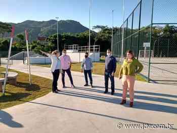Comitiva de Curitibanos conhece os parques de Jaraguá do Sul - Jornal do Vale do Itapocu