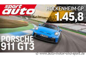 Rundenzeit in Hockenheim: Porsche 911 GT3 schlägt Ferrari und McLaren - auto motor und sport