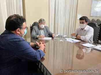 Prefeito de Soledade se reúne com governador e pede apoio para projeto de implantação de Polo Industrial - Portal Correio