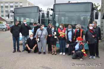 Mouvement de grève chez les chauffeurs de bus du Vib' à Vierzon - Le Berry Républicain