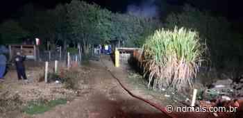 Incêndio em casa mata homem de 37 anos em Videira - ND Mais