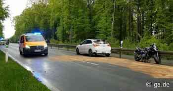 Unfall auf B56 zwischen Siegburg und Lohmar: Strecke voll gesperrt - General-Anzeiger Bonn