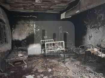 Idoso morre carbonizado durante incêndio em clínica de reabilitação em Matozinhos - Tecle Mídia