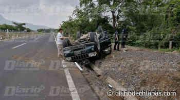 Vuelca Jeep en el tramo Pijijiapan-Tonalá - Diario de Chiapas