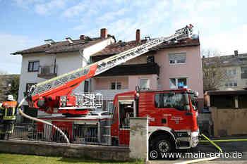 Hoher Schaden nach Dachstuhlbrand in Waldaschaff - Main-Echo