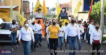 Luis Felipe León Balbanera, visitó varias colonias de Zacapu para exponer su proyecto - El Diario Visión