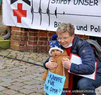Protest Krankenschwester aus Havelberg entdeckt die Revolutionärin in sich - Volksstimme
