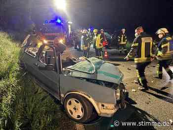 Drei Verletzte nach Unfall bei Schwaigern - Heilbronner Stimme