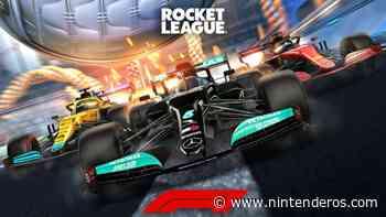 Rocket League prepara el inminente estreno de sus contenidos de Formula 1 con este tráiler - Nintenderos.com