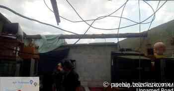 Tornado en Chignahuapan deja afectaciones en ocho viviendas - Telediario Puebla