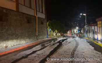 Fuerte granizada y aguacero cayó anoche en Tepeji - El Sol de Hidalgo