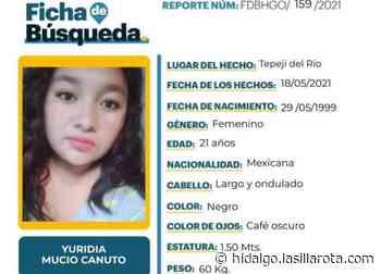 SE BUSCA   Yuridia desapareció en Tepeji del Río - La Silla Rota