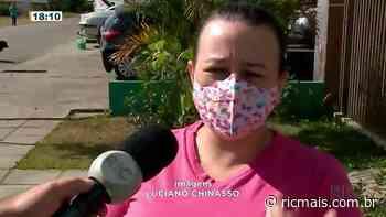 Acidente grave no Cajuru - RIC Mais