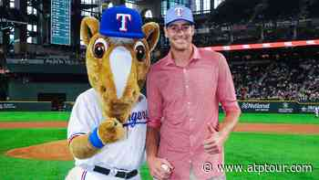 Before Corey Kluber's No-Hitter, John Isner Threw The First Pitch - ATP Tour