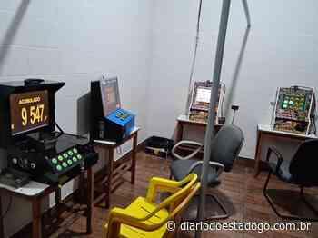 Polícia civil de Itumbiara fecha casa de jogos de azar - Diário do Estado
