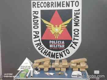 Polícia apreende cerca de 20 kg de maconha em Pirapora e uma pessoa é presa - G1