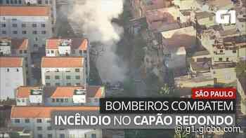 Incêndio atinge comunidade no Capão Redondo, Zona Sul de SP - G1