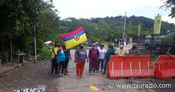 Levantan bloqueo de vía por suspensión de construcción de peaje en Lebrija, Santander - Blu Radio