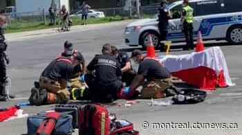 Woman, 74, dies after being hit by truck in Mercier—Hochelaga-Maisonneuve - CTV Montreal