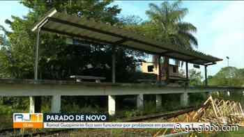Trens do ramal de Guapimirim estão parados há mais de um mês; moradores relatam dificuldades - G1