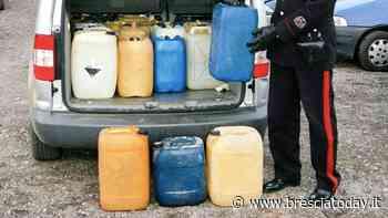 Rubavano dai serbatoi di auto e tir in sosta: fermati con 130 litri di carburante - BresciaToday