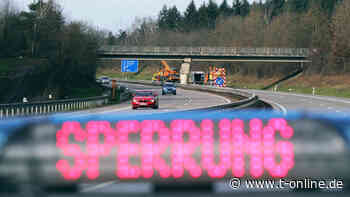 Köln: Autobahn 3 gesperrt nach Lkw-Unfall bei Bonn/Siegburg - t-online - Köln