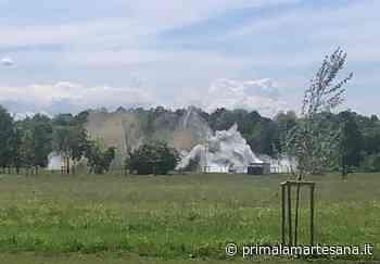 Bomba esplosa a Segrate: le foto ei video - Prima la Martesana