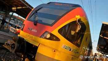 Siegen/Betzdorf: Bahnstrecke nach Unfall komplett gesperrt - Westfalenpost