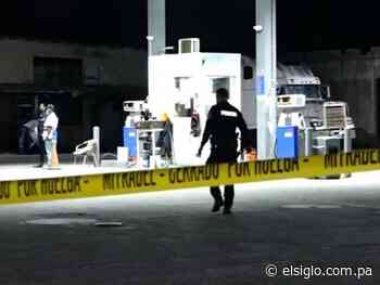Frustran robo en gasolinera de Antón; le tiraron bala a los policías - El Siglo Panamá