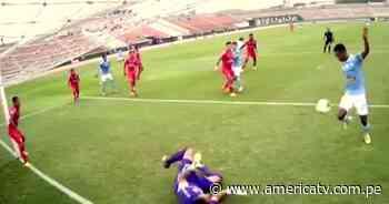 Sporting Cristal vs. Sport Huancayo: Loyola abrió el marcador para el cuadro celeste de rodilla - América Televisión