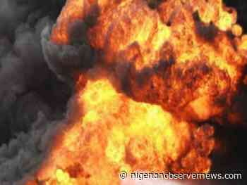 Gas explosion kills 1, another serioulsly injured in Obsanjo Library, Abeokuta - Nigerian Observer