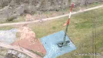 Bundeswehr in Frankenberg baut 40 Meter hohe Antenne auf - HNA.de
