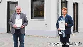 Walting: Hohe Ehre für Gemeinderäte - Urkunden für Liepold und Drieger - Noch kein Beschluss über Hochfrequenzanlage in Walting - donaukurier.de