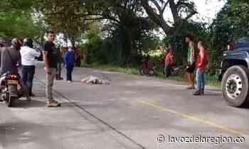 Motociclista murió tras ser arrollado en la vía Campoalegre - Neiva - Huila