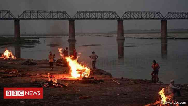 India's holiest river Ganges is swollen with Covid victims - BBC News