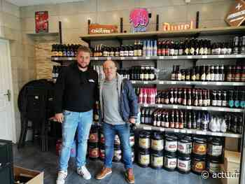 Anthony Deroin, ancien footballeur du Stade Malherbe Caen, ouvre sa cave à vin dans le Calvados - actu.fr
