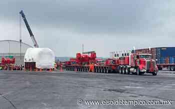 De Tampico a Tamazunchale, saldrá generador de más de 450 toneladas - El Sol de Tampico