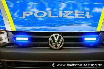 Einbrecher wird von Bewohnern erwischt und bei der Flucht festgenommen - Ehrenkirchen - Badische Zeitung