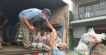 Mil cestas básicas começaram a ser distribuídas em Uruguaiana nesta quinta-feira - Jornal Correio do Povo
