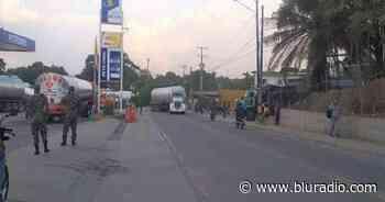 Levantan protesta que afectaba el transporte de combustibles desde Barrancabermeja, Santander - Blu Radio