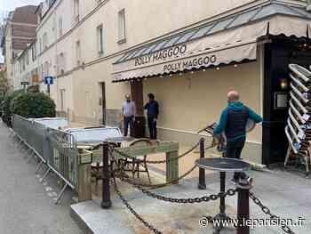 Neuilly-sur-Seine: les terrasses éphémères rencontrent un succès fou...avant même leur réouverture - Le Parisien