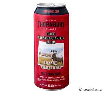 The Tragically Hip and Thornbury Craft Team Up on 'Road Apples' Cider - Exclaim!