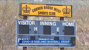 Some Corner Brook sports groups shut down after COVID case at baseball association - ntv.ca - NTV News