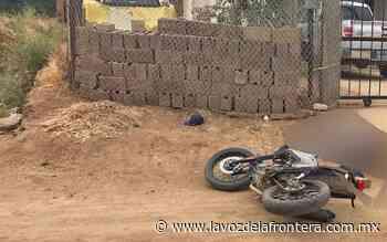 Asesinan a motociclista en Cerro Azul de Tecate - La Voz de la Frontera